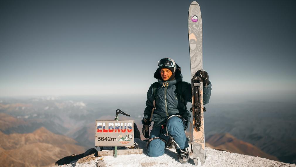Горнолыжная авантюра: как брянский фотограф покорил Эльбрус и съехал с вершины на лыжах