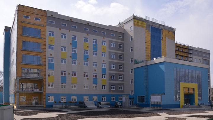 Брянск уже летом ожидает окончание строительство перинатального центра