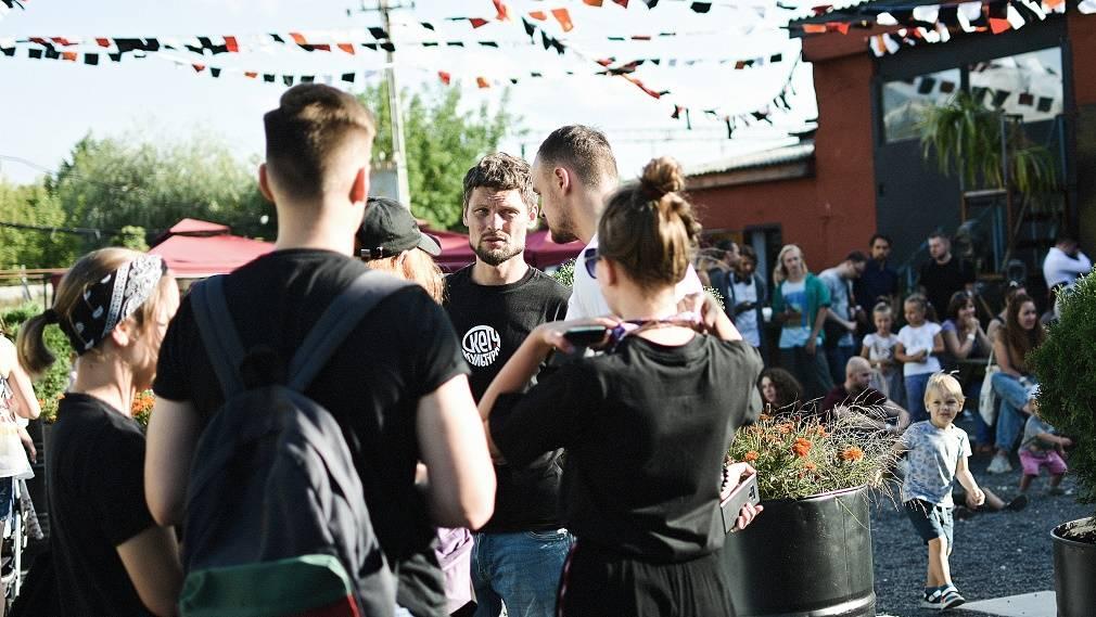 В пространстве «Модуль» состоялось открытие фестиваля «Скетч-Культура»