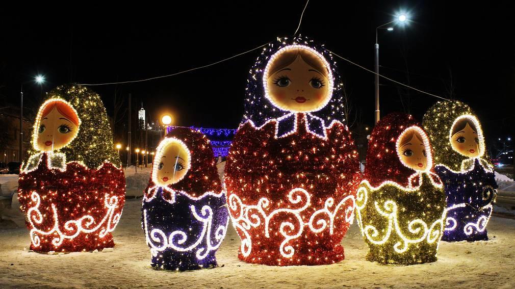 Гуляем по новогоднему Брянску!