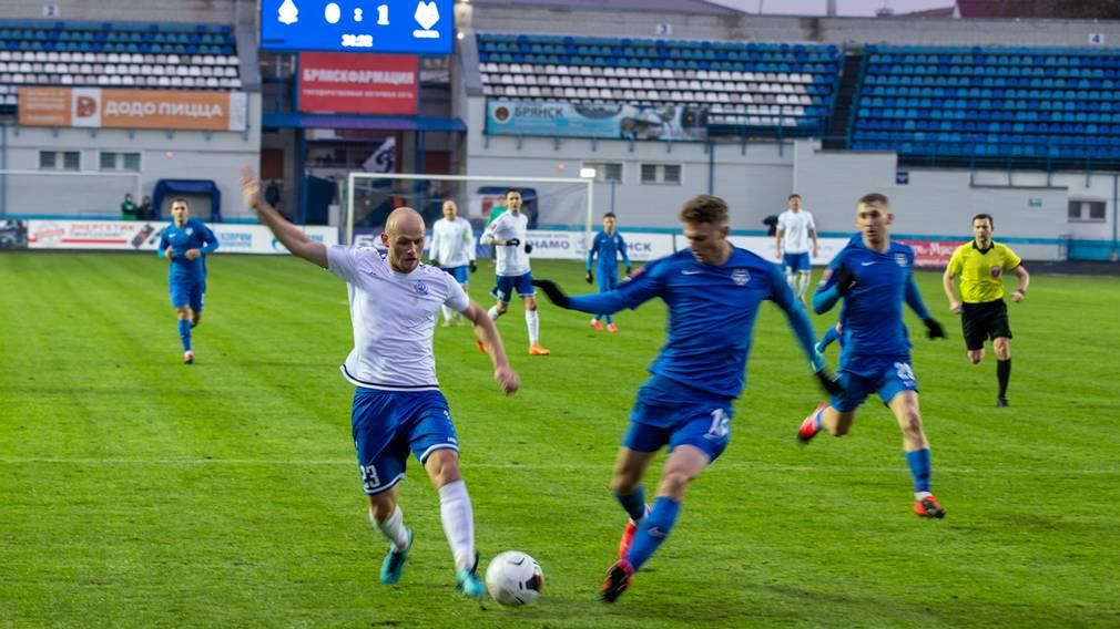 Брянское «Динамо» вылетело из Бетсити Кубка России