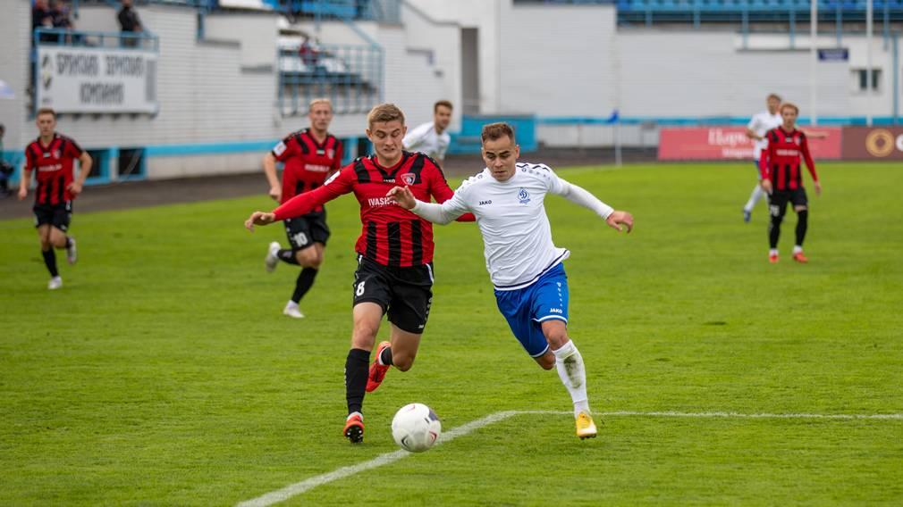 Брянское «Динамо» выиграло в первой игре после карантина