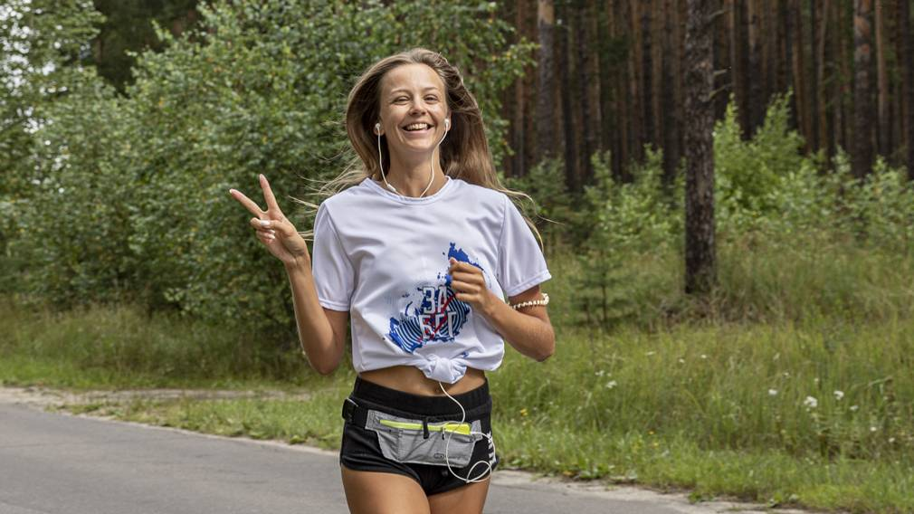 Брянские любители бега поддержали всероссийский онлайн-полумарафон