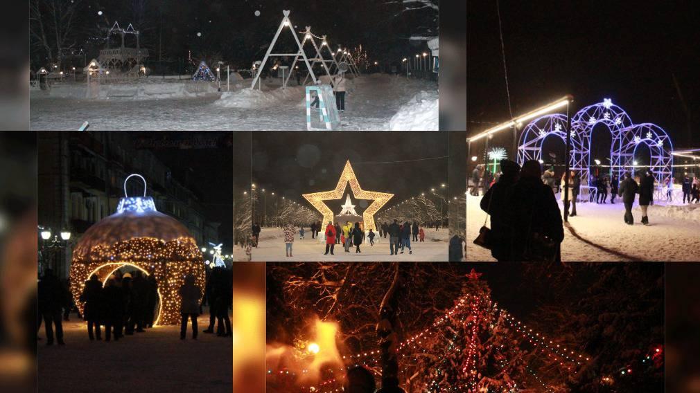 ТОП-5 новогодних мест Брянска
